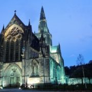 Glasgow Cathedral, where Echoes and Traces will be performed