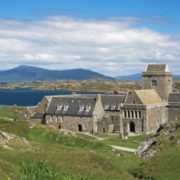 Beautiful Iona Abbey is the location for another performance of Echoes and Traces