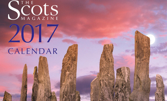 The Scots Magazine Calendar 2017 Now Available