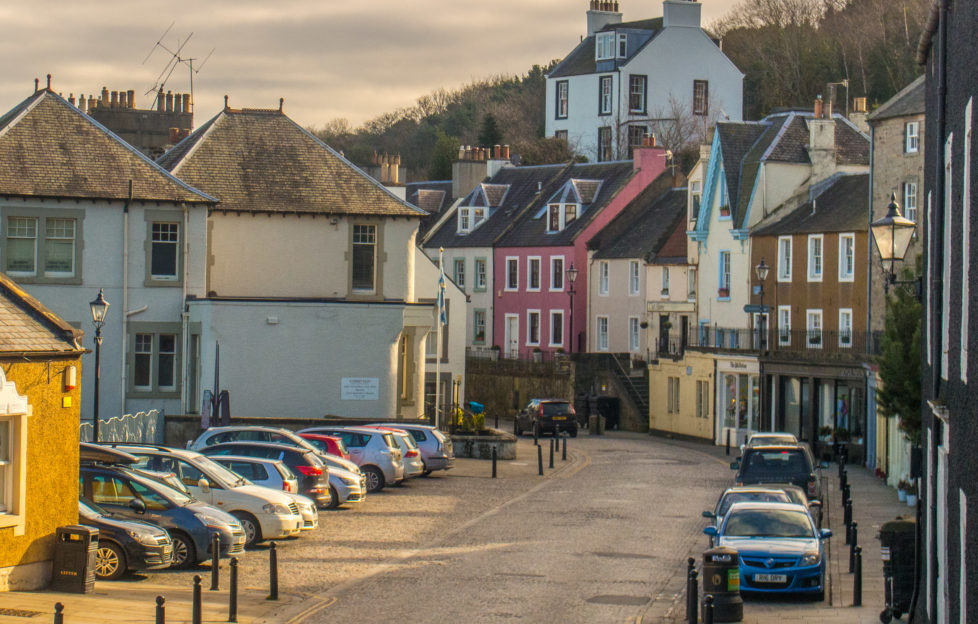 South Queensferry is a mere twenty minutes from the city centre.
