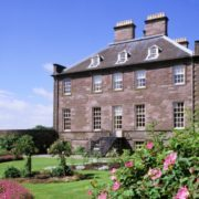 A view of the East Walled Garden at the House of Dun near Montrose.