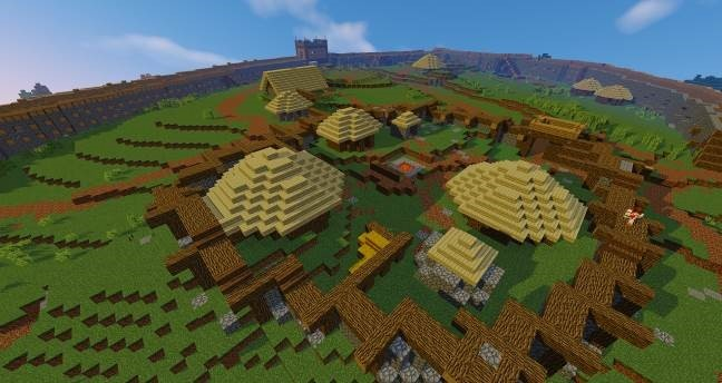 Minecraft recreation of Moncrieffe Hillfort. Pic: ImmersiveMinds