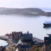Oban, host of the 2014 Scottish Rural Parliament, which this year is being held in Brechin.