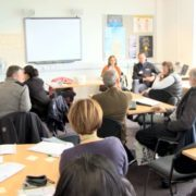 A workshop at the Scottish Parliament 2014