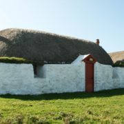 Balevullin Cottage on the Isle of Tiree. Copyright @ Historic Environment Scotland