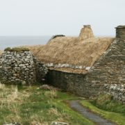 An abandoned crofthouse on Shetland. Copyright @ Historic Environment Scotland
