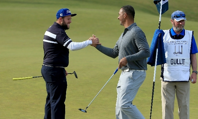 Andrew Johnston and Ruud Gullit are also at this year's Dunhill.