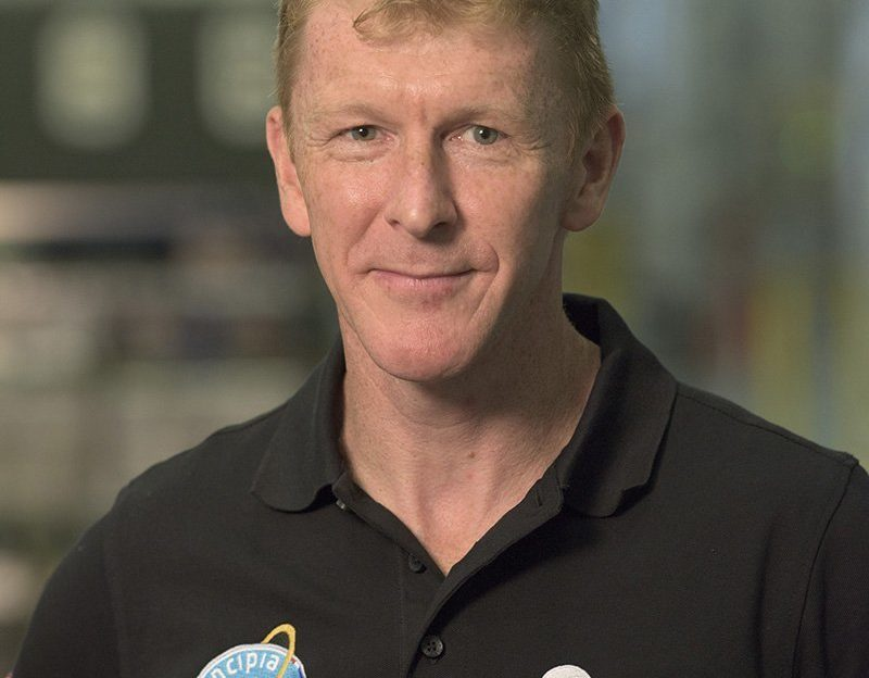 Tim Peake is in Dynamic Earth this weekend.