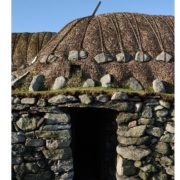 A traditional blackhouse. Copyright @ Historic Environment Scotland