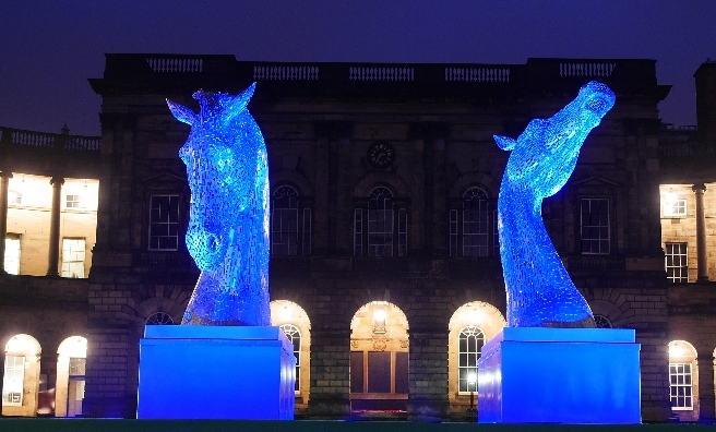The Kelpie Macquettes will be on display at Musselburgh Race Course during The Saltire Festival 2016