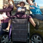 Granny Turismo is one of the brilliant acts hitting Inverness streets this weekend!