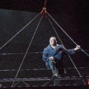 Ivan Inverardi as Michele in a scene from Il Tabarro by Opera North. ©Tristram Kenton