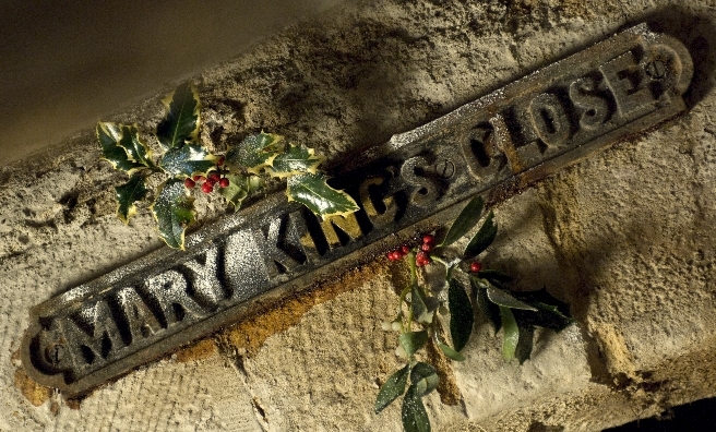 Mary King's Close looks back at Edinburgh's Christmas in days gone by this year.