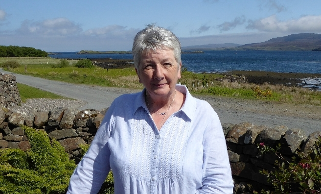 Shirley Spear on her beloved Isle of Skye
