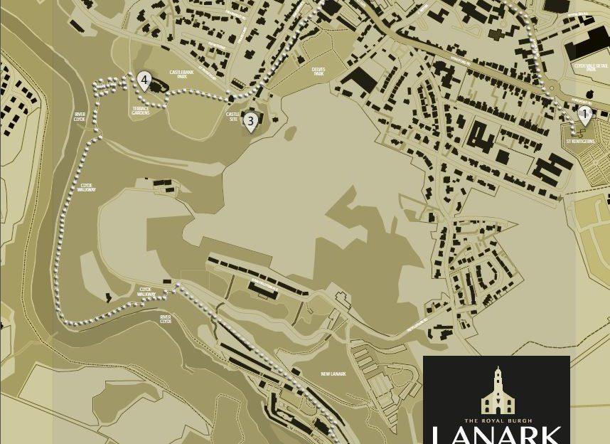 The William Wallace Trail around Lanark