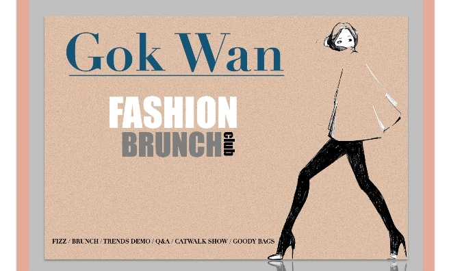 Join Gok Wan at one of his super-stylish Fashion Brunch Clubs
