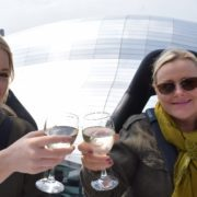 Cheers! This summer, eating and drinking high above the streets of Glasgow will be on our to-do list!