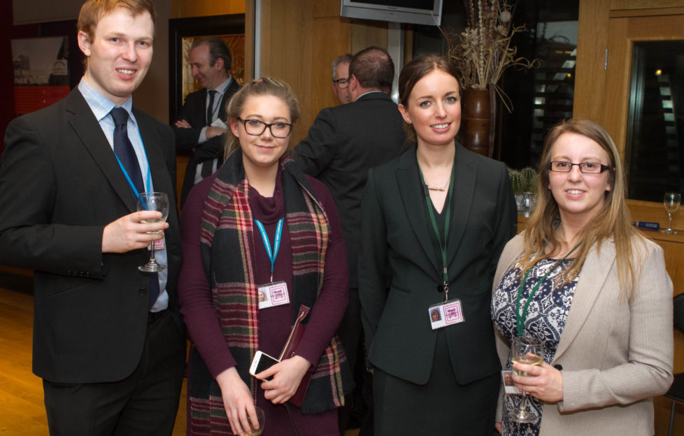 Parliamentarians were briefed on the potential benefits at a drinks reception in the Members' Room at Scottish Parliament, Edinburgh.