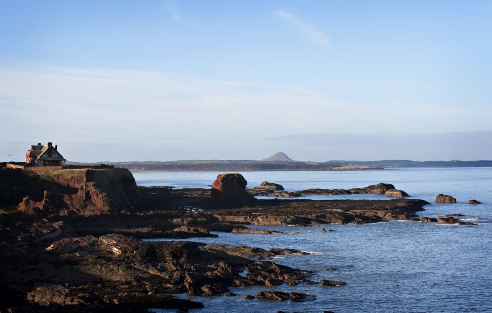 The route begins on the sea cliffs of East Lothian Pic: Becky Duncan, SNH.