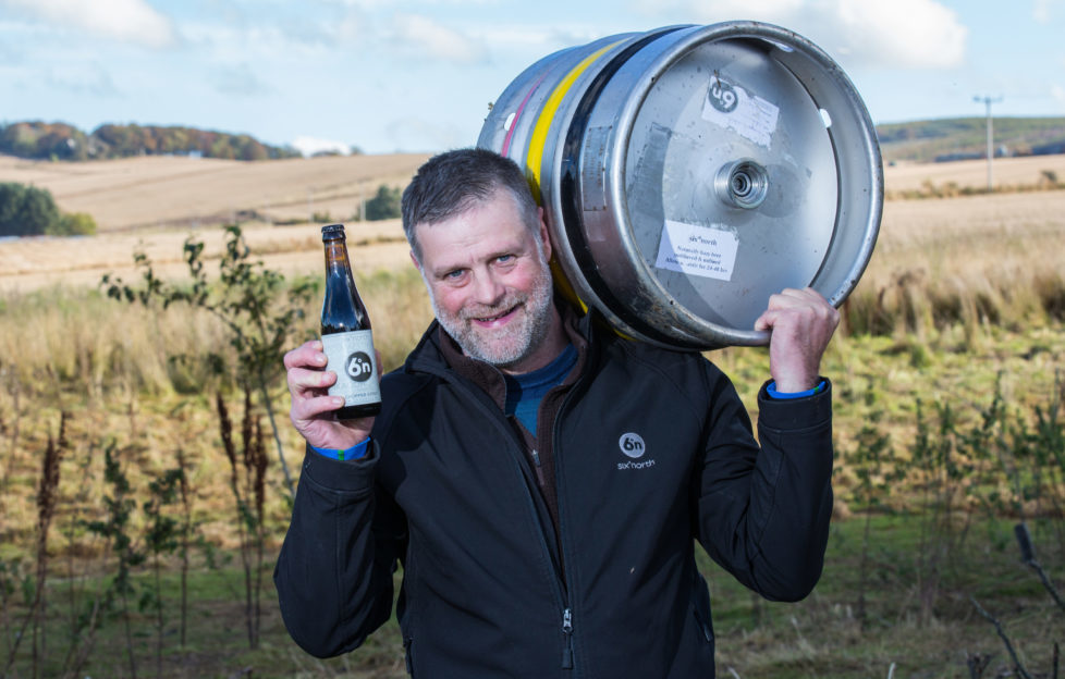 Robert Lindsay of Six Degrees North Brewery was another winner at last year's awards!