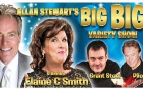 Variety is back in fashion! Sing, laugh and even dance along at Allan's Big Big Variety Show.