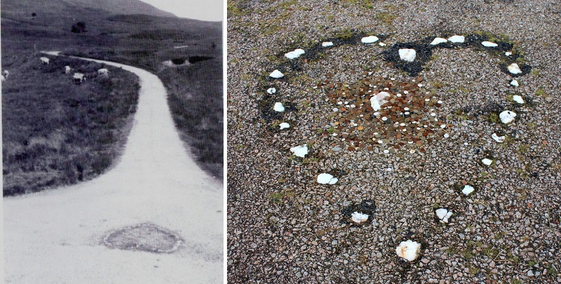 The Tinker's Heart - as it was at a junction on the A815.