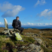 The wee hills on Colonsay provide a grand day out.