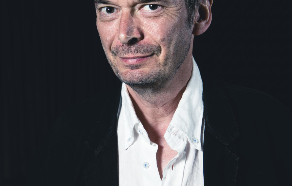 Ian Rankin celebrates 30 years of Rebus at the Festival. Pic: Eoin Carey