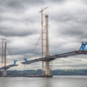 The new Queensferry Crossing bridge taking shape! Pic: iStock