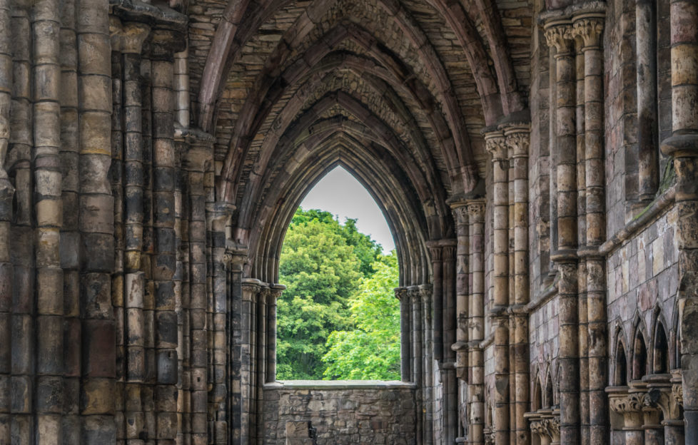 Inside Holyrood Palace. PIc: Kay Gillespie