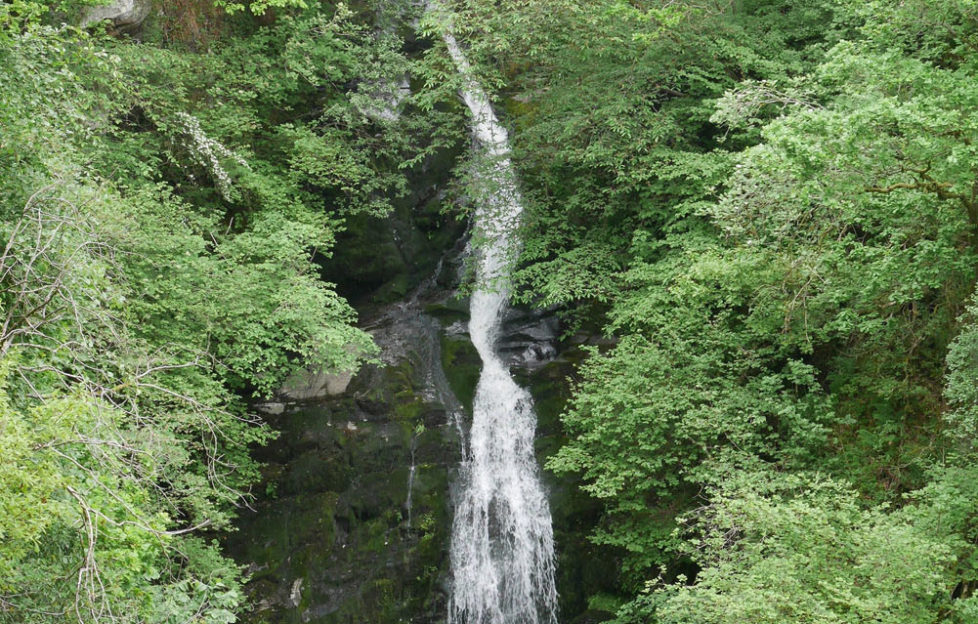 The Black Spout waterfall is worth a walk! Pic: Patricia Cuni