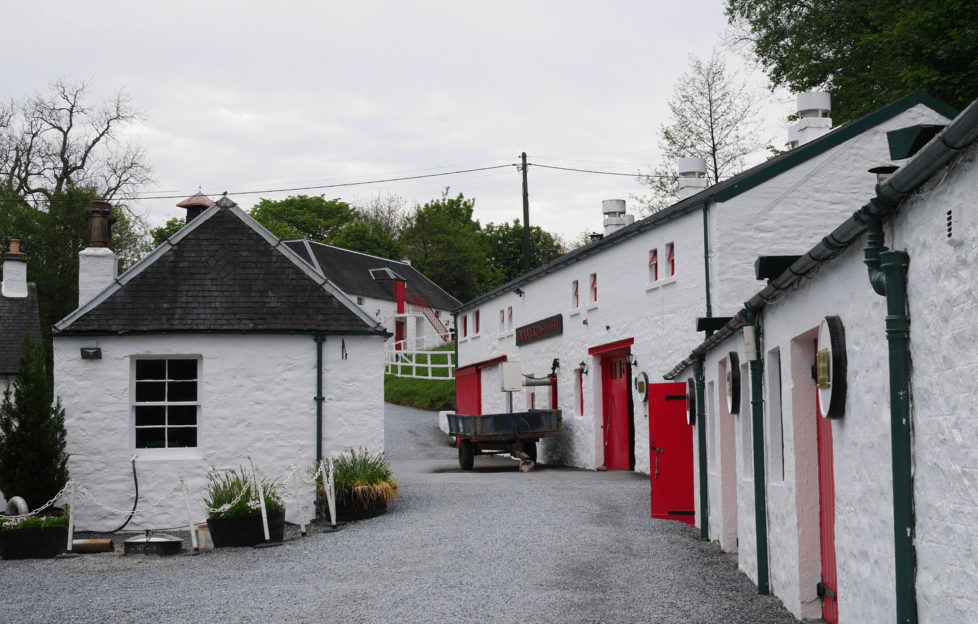 Edradour Distillery is one of the smallest in Scotland. Pic: Patricia Cuni