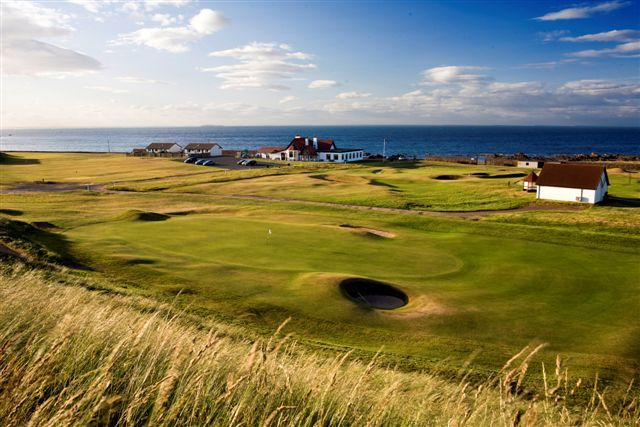 Dunbar Golf Club has commanding views, and was first laid out in 1856!