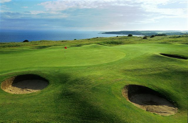 Gullane Golf Club hosted the Aberdeen Asset Management Scottish Open in 2015