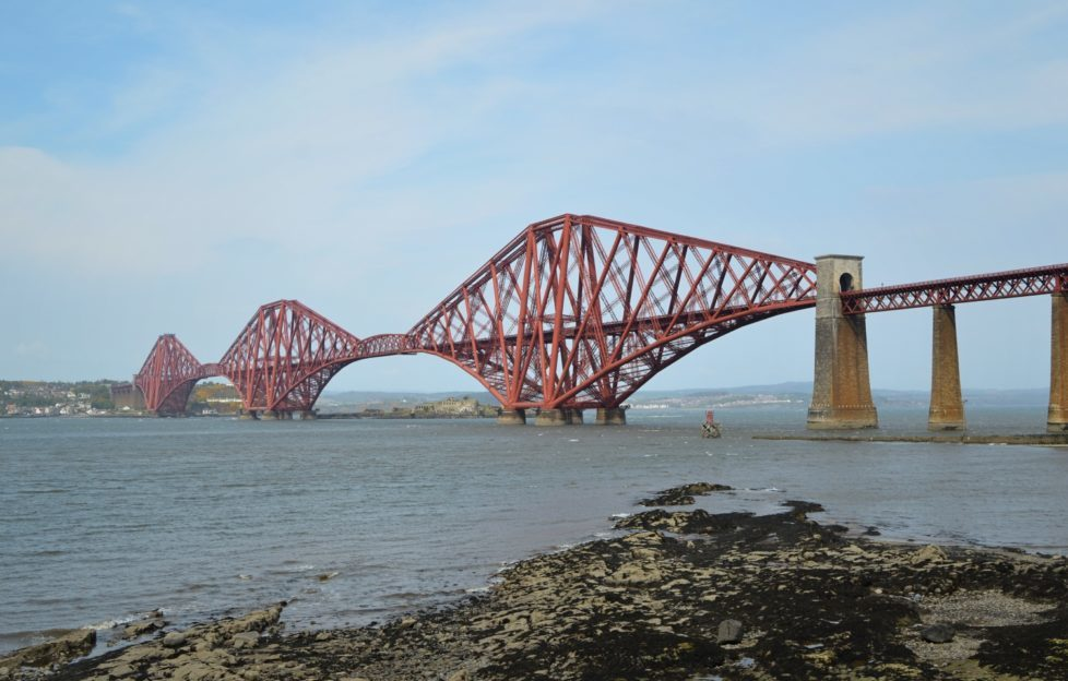 Take in the Forth bridges from South Queensferry. Pic: Laura Brown