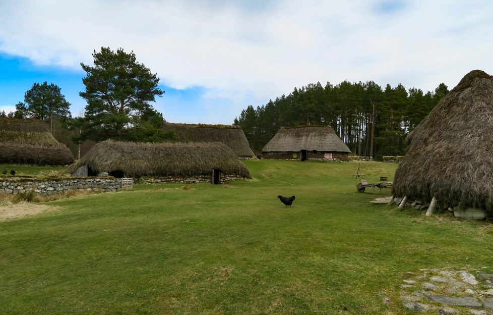 The Highland Folk Museum, village location when Dougal collects rent in Season 1. Pic: Neil Robertson
