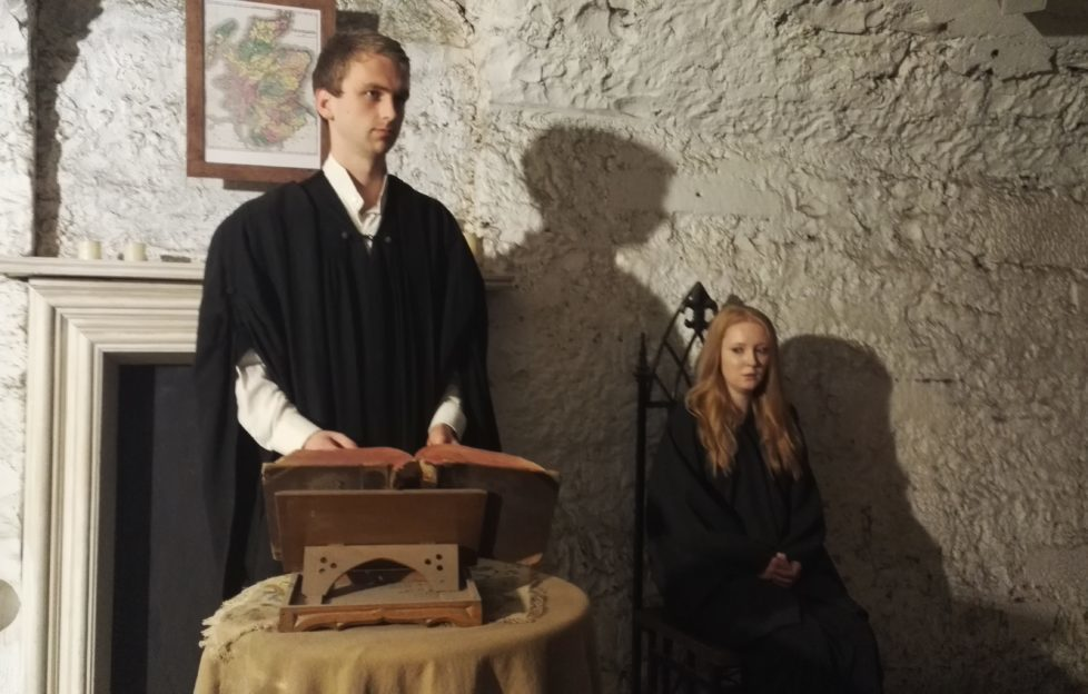 History comes to life on the Real Mary King's Close tours.