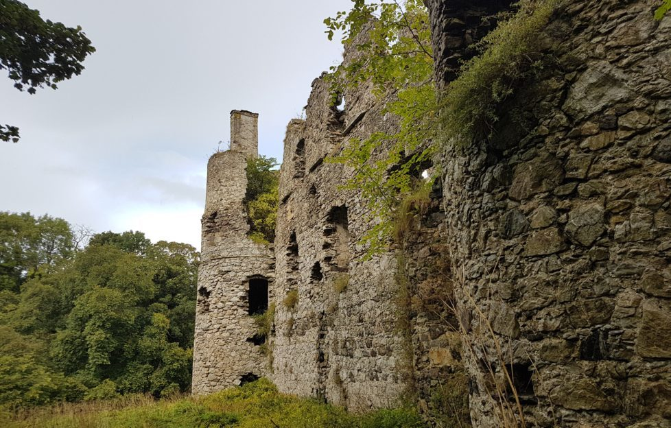 Boyne Castle is surprisingly intact for its age. Pic: David Weinczok