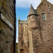 Fordyce Castle is a classic L-planned towerhouse. Pic: David Weinczok