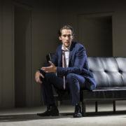 Oliver Savile as the misunderstood Bobby. Pic: Pamela Raith Photography