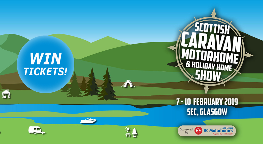 WIN Tickets To The Scottish Caravan Show - The Scots Magazine