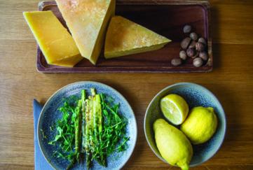 Carina Contini, baked Asparagus recipe