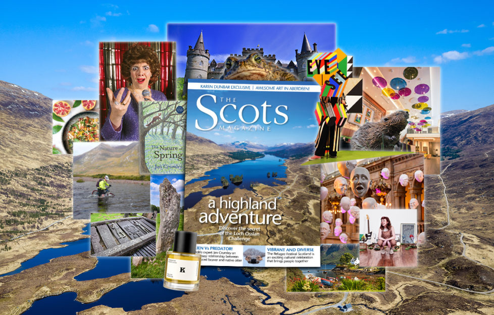 Scots magazine. June issue. JUne contents feature